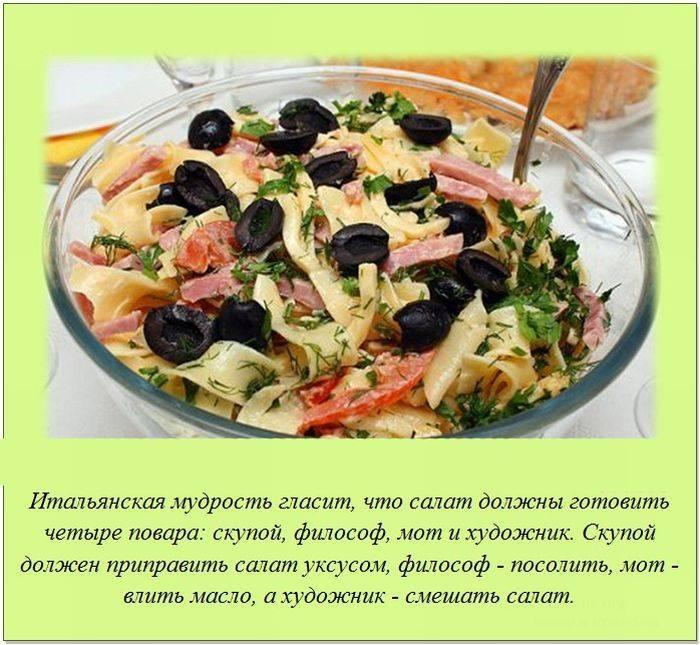 Факты о кулинарии