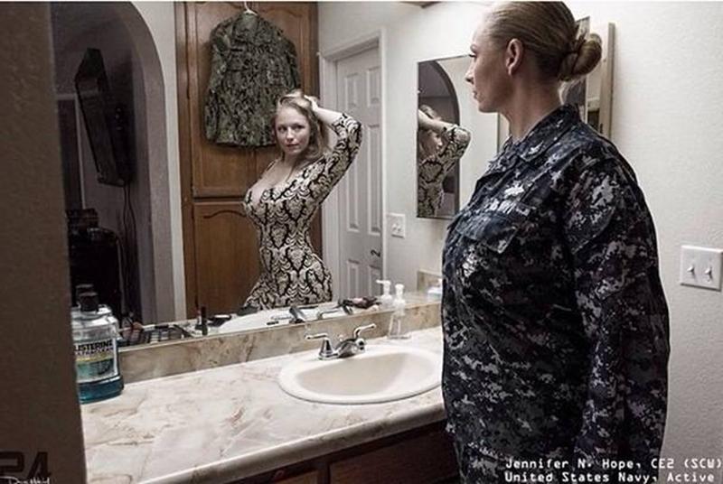 Уникальный арт-проект показал, что скрывается за униформой