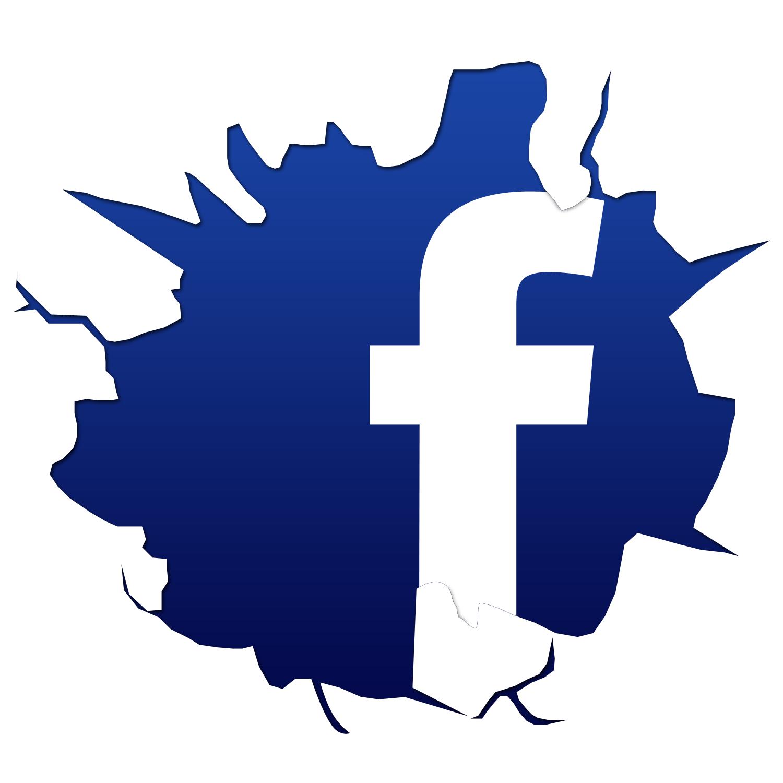 Фейсбук картинка векторная