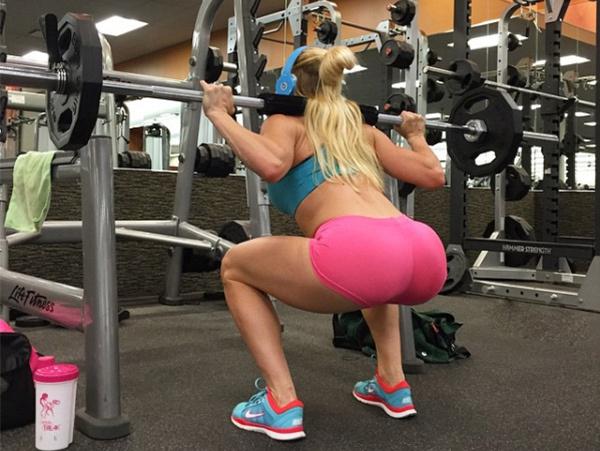 Спортивные телочки хотят