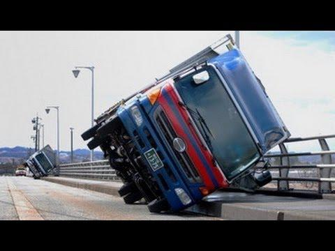 Car Crash Compilation Truck on the side 2014 A new selection of accidents in November 2014
