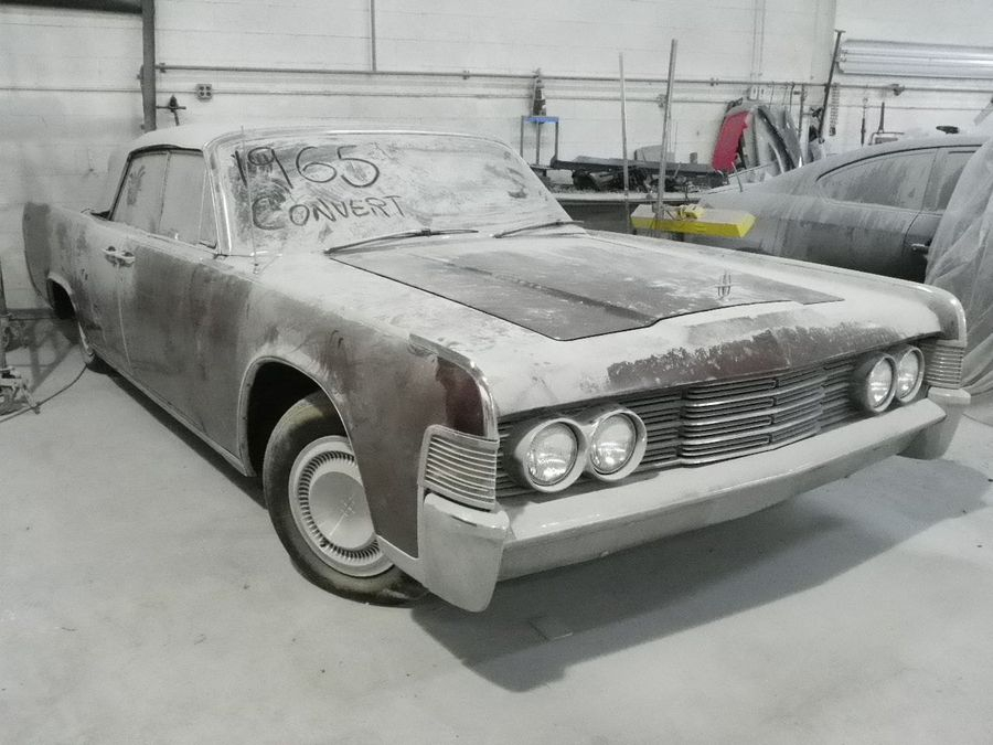 Найдено на eBay. Lincoln Continental Convertible
