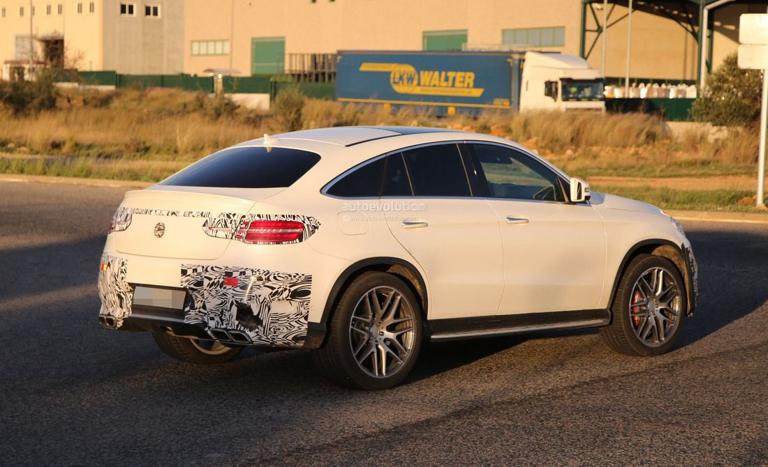 Новый Mercedes-Benz копирует BMW X6 bmw, gle, gle coupe, mercedes-benz