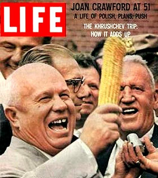 Приключения Хрущева в Америке СССР, Хрущев, америка, визит