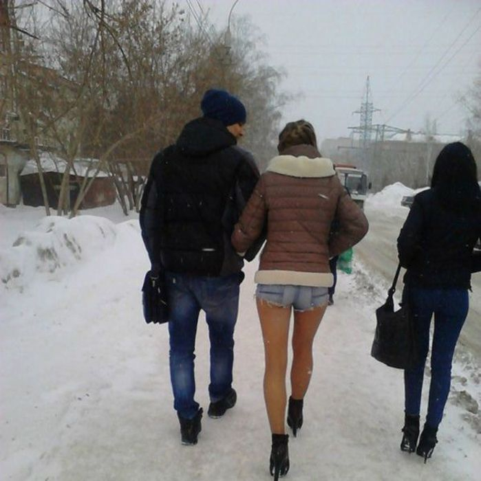 холодно шлюхам зимой не