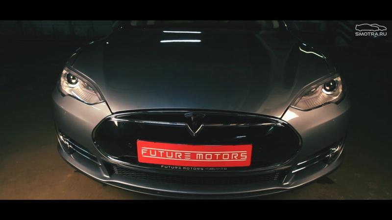 автомобиль тесла видео тест драйв