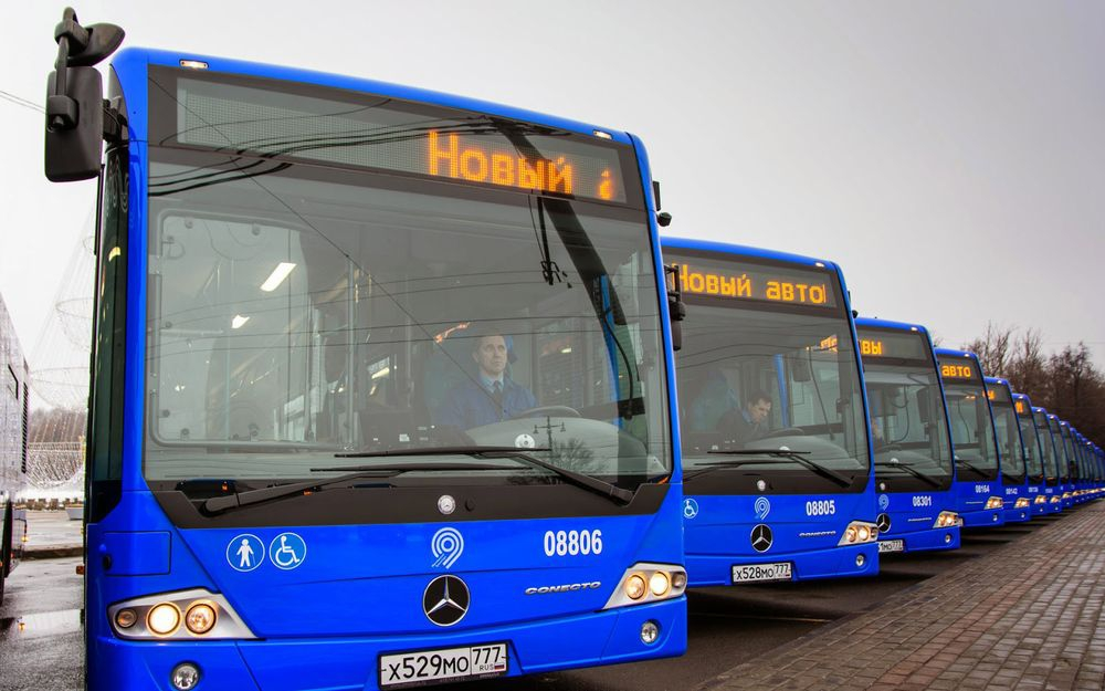 Картинки по запросу москва автобусы