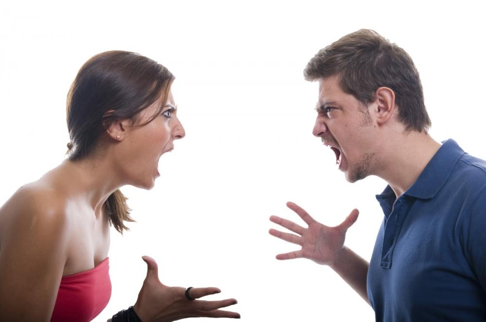 Картинка где люди ссорятся