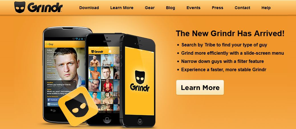 grindr update for android