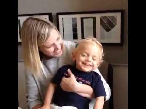 Baby Ryan Giggles at Hearing His Mom for the First Time