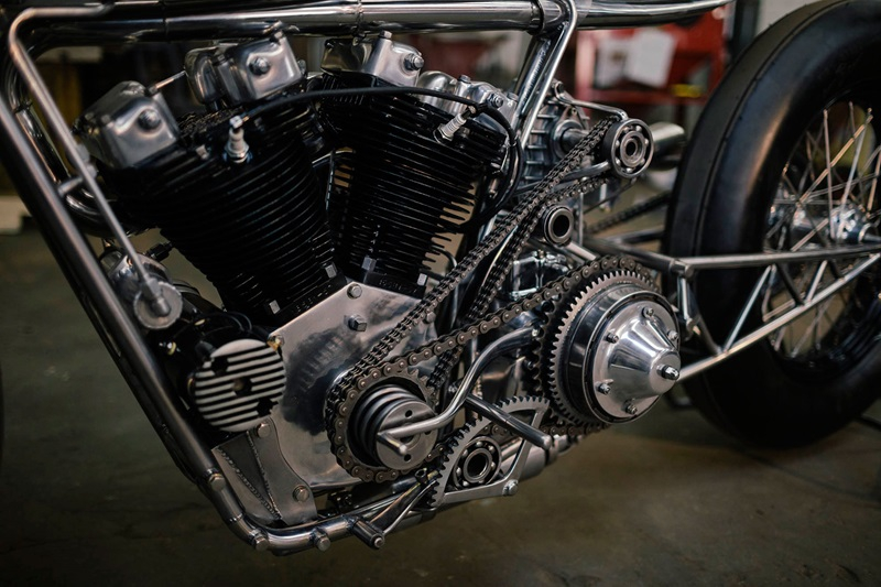 Кастом-байк Hazan Supercharged Ironhead кастом, кастом-байк, кастомайзинг