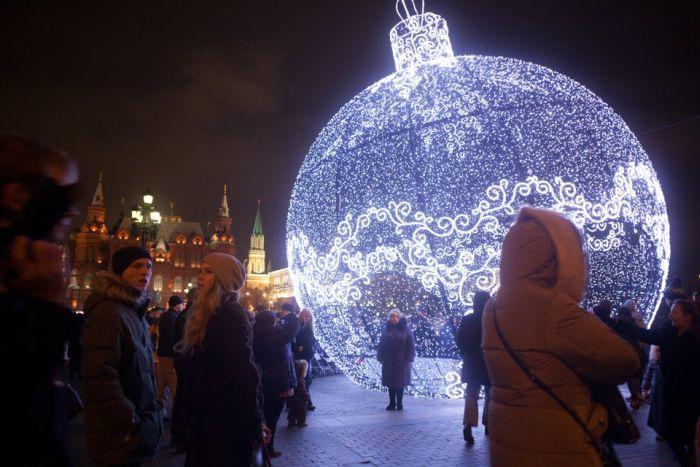 Огни новогодней москвы экскурсия