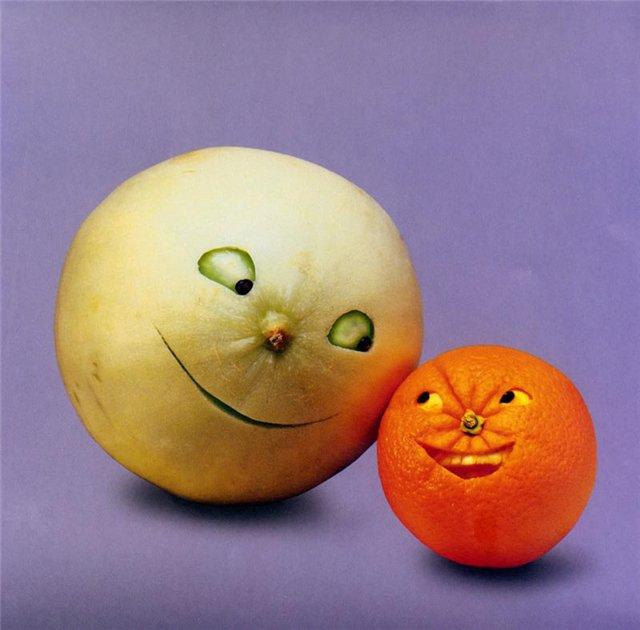Картинки прикольных овощей и фруктов, утро прикольная