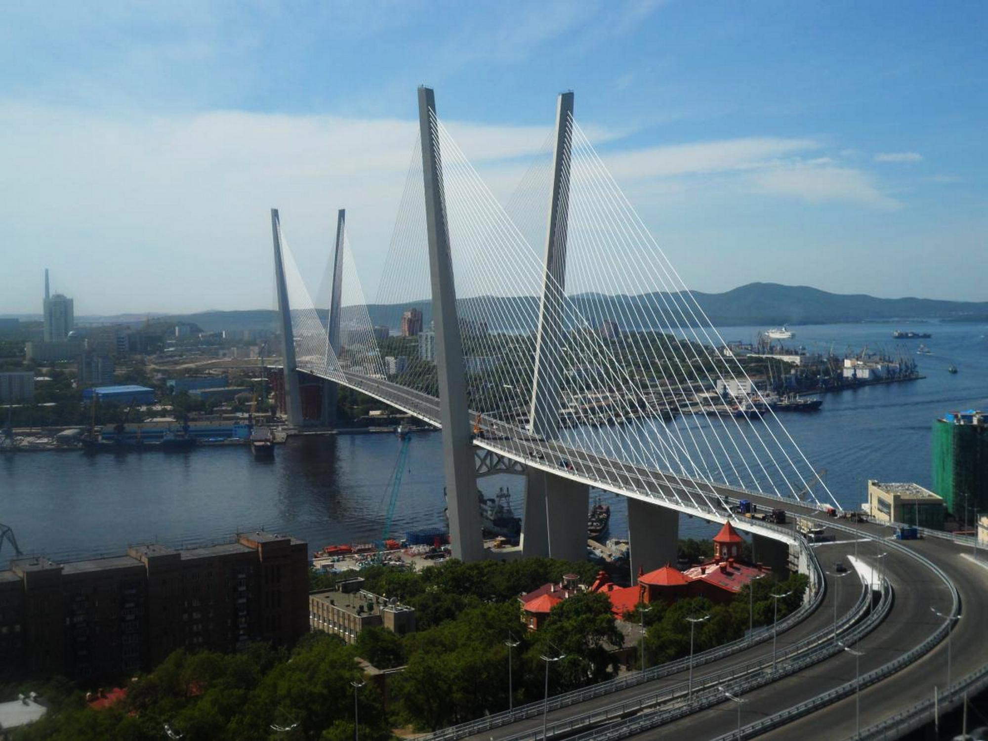 фото новые владивосток мосты