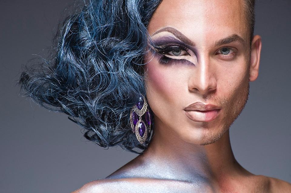 Мужской макияж. Искусство перевоплощения