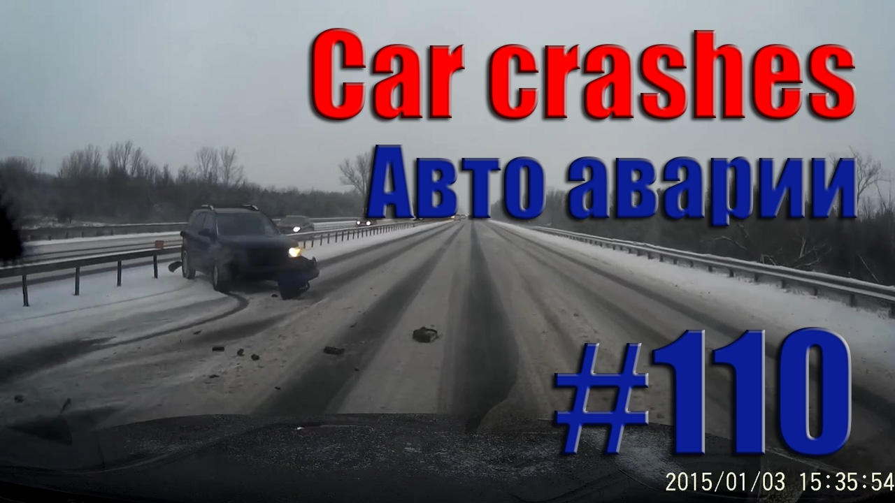 Car Crash Compilation || Road accident #110