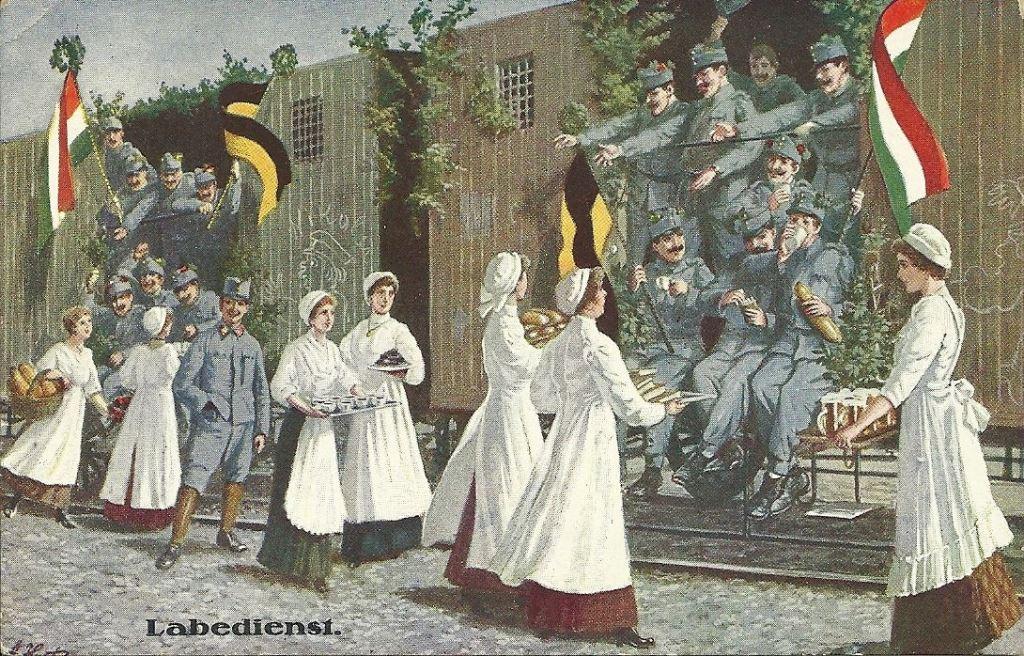 Открытки первой мировой войны 1914, открытки христос