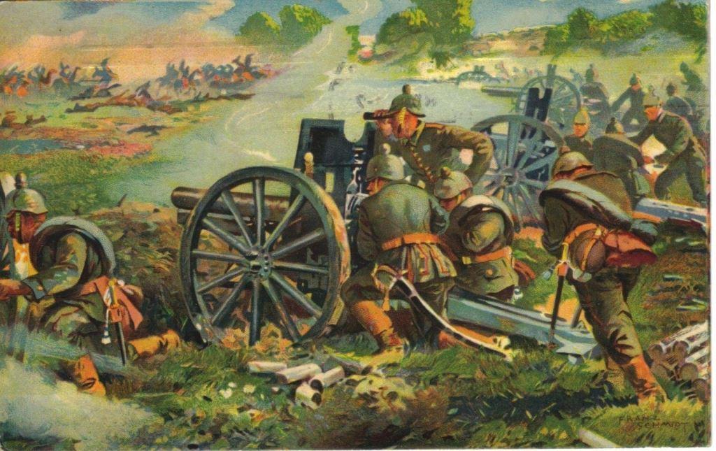 Открытки первой мировой войны 1914