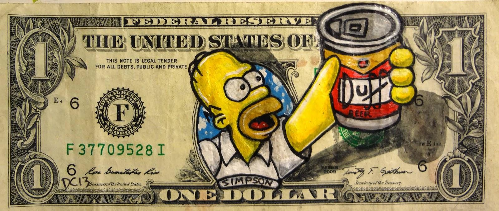 нарисовать деньги прикольные таковые рядах