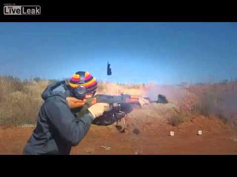 AK-74 Blows Up in Shooters Face