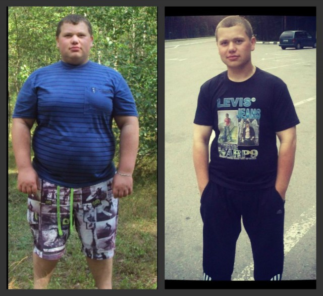 Похудение для подростков мальчиков