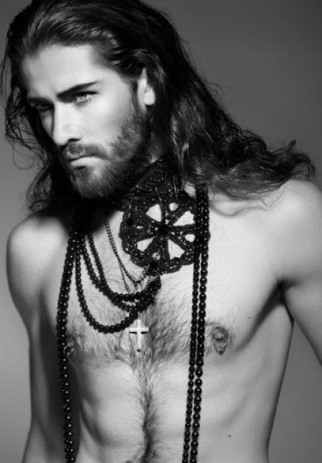Самые сексуальные длинноволосые мужчины топ 10