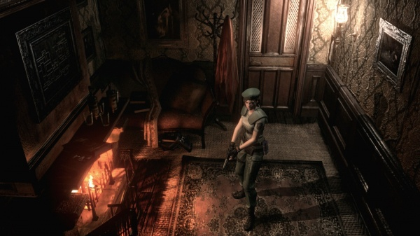 Resident Evil HD Remaster re. ужасы, игры