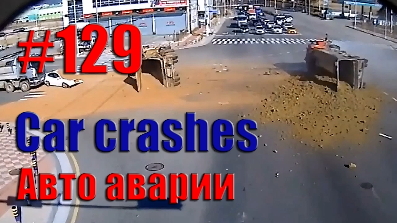 Car Crash Compilation || Road accident #129