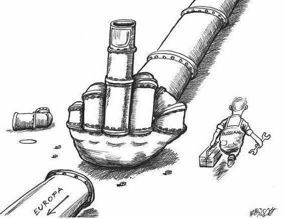 Российский газопровод «Северный поток» прорубил газовое окно в Европу.
