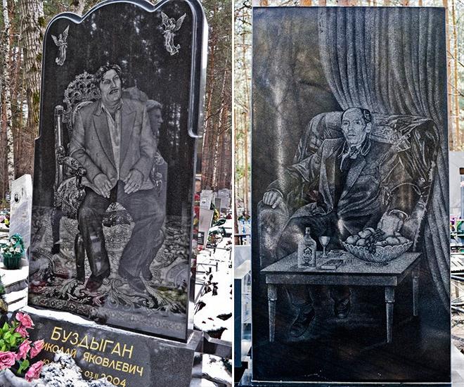 """14_image Оросын гэмт хэргийн ертөнцийн """"Загалмайлсан эцэг""""-үүдийн хөшөө"""
