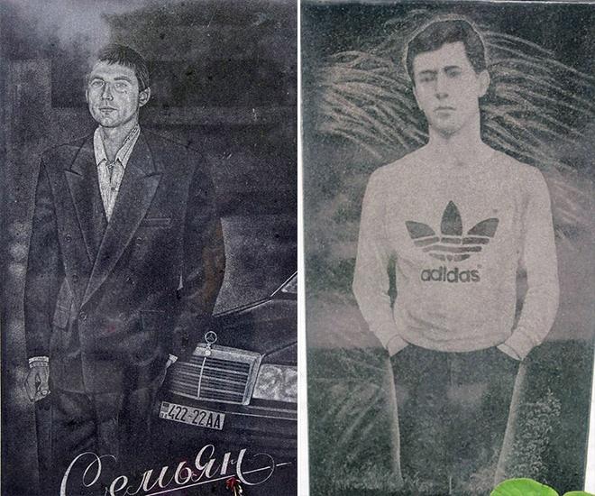 """16_image Оросын гэмт хэргийн ертөнцийн """"Загалмайлсан эцэг""""-үүдийн хөшөө"""