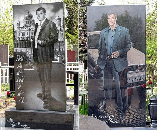 """3_image Оросын гэмт хэргийн ертөнцийн """"Загалмайлсан эцэг""""-үүдийн хөшөө"""