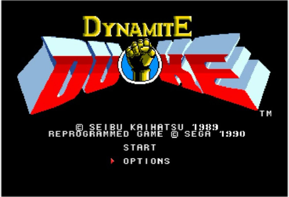 Dynamite Duke 1989, SuperHard Mode, Best Playthrough (Sega 16bit)