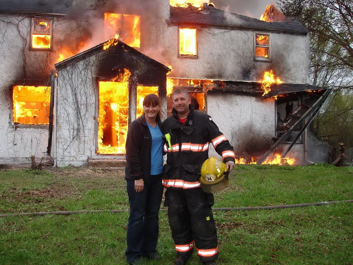 Смешной пожар картинки