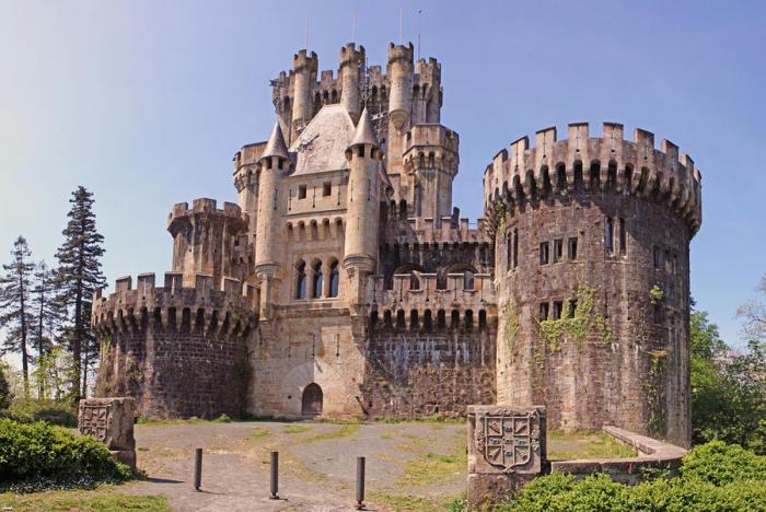 Замки о дворцы Испании замки, фото