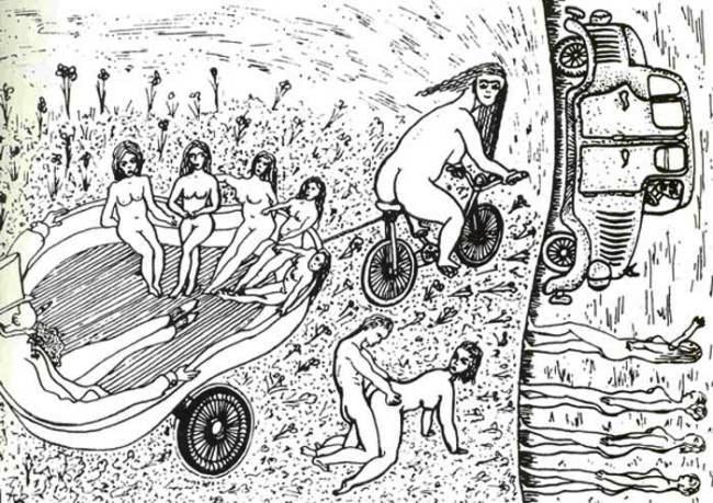рисунки больных шизофренией-3