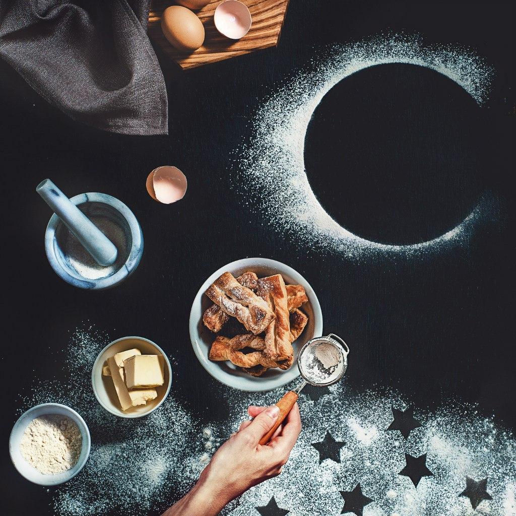 Картинки луна звезды чай