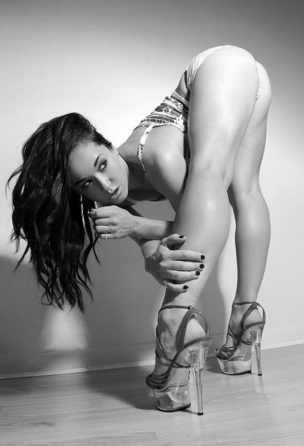 Sexy Naked Woman In High Heels