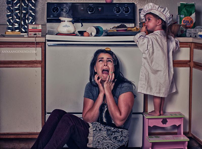 День подводника, смешная картинка мама и ребенок