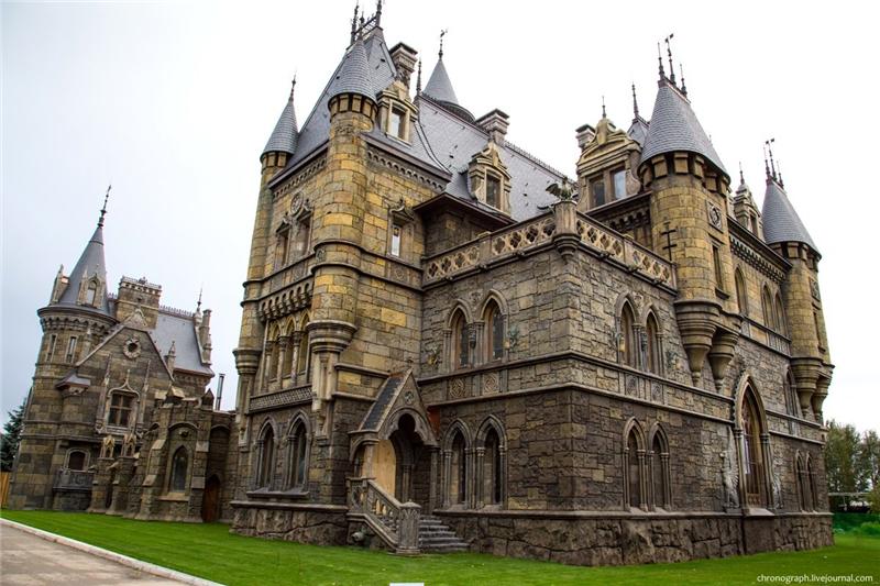 Рыцарский замок у Жигулевского моря замки, красота