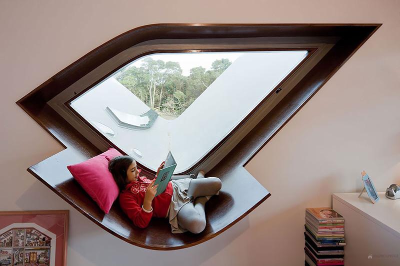 9. Удобное место для чтения книг. дизайн, дом, идея, креатив