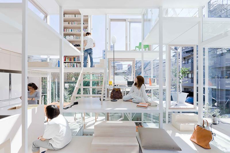 44.  Прозрачный дом дизайн, дом, идея, креатив