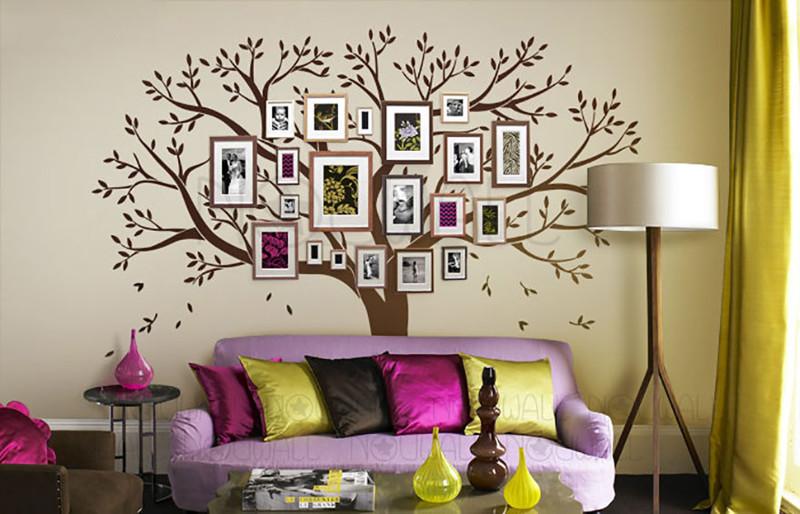 30. Семейное дерево.  дизайн, дом, идея, креатив