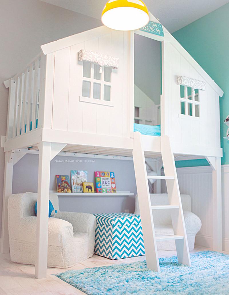 13. Уютный домик-кровать для детей. дизайн, дом, идея, креатив
