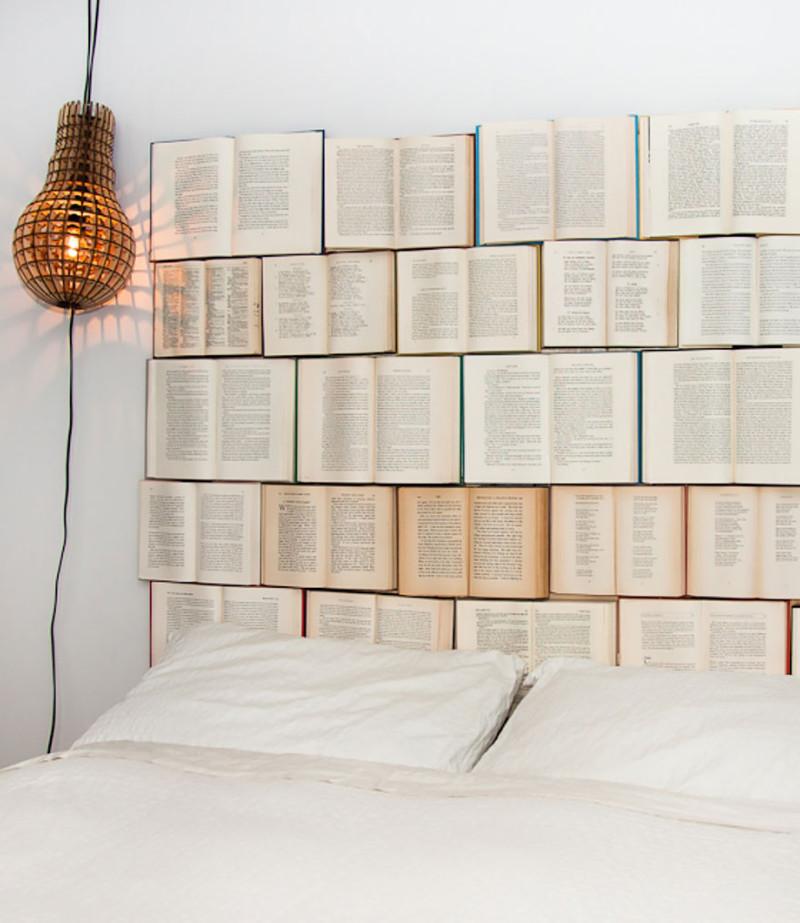 42. Оригинальная идея для изголовья кровати  дизайн, дом, идея, креатив