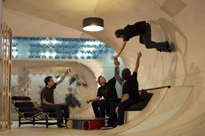 39.  Дом для скейтбординга дизайн, дом, идея, креатив