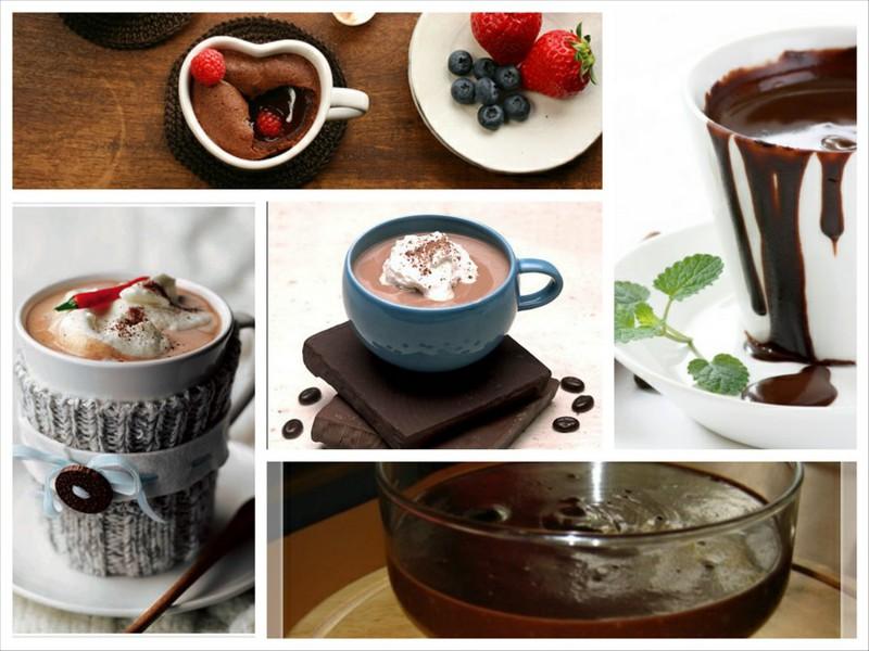20 рецептов горячего шоколада