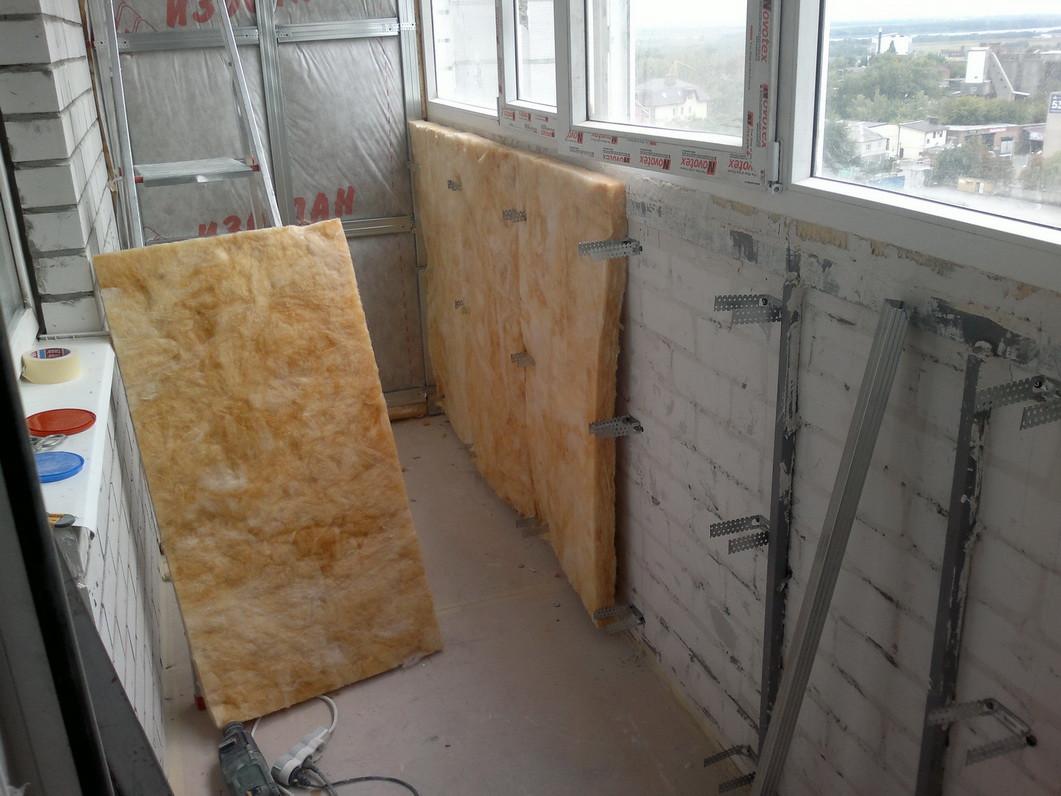 Ремонт квартиры своими руками: утепление и отделка балкона.