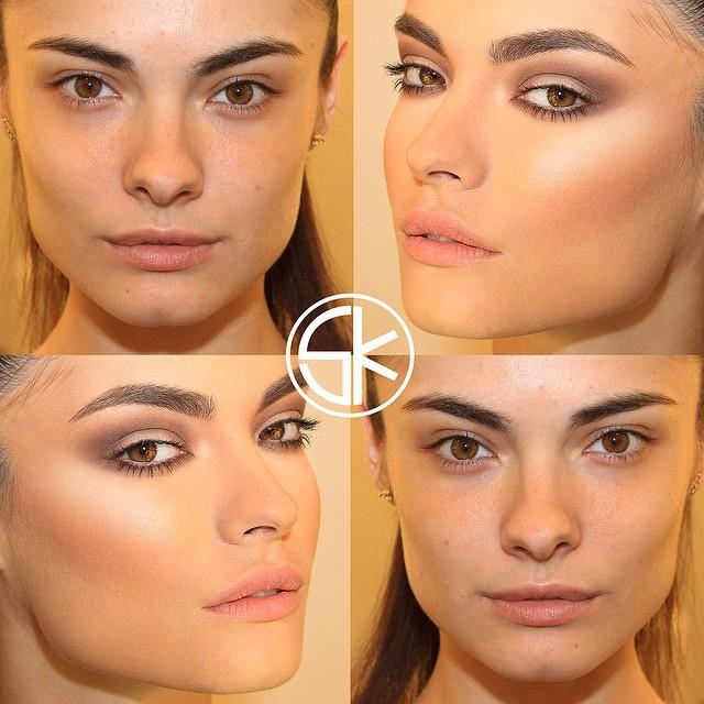 Невероятные преображения девушек до и после макияжа