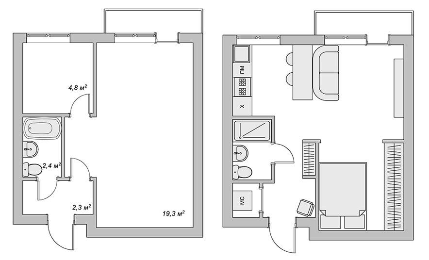 Планировочное решение дизайн, квартира, креатив, ремонт